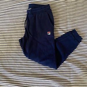 ✰ fila Navy Blue sweatpants ✰